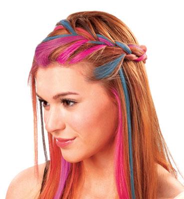 Vlasové omyvatelné barvy