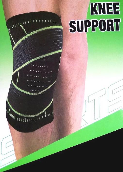 Kompresní 3D bandáž na koleno délka 30x15 cm 1 kus
